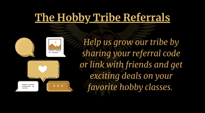 The Hobby Tribe referrals