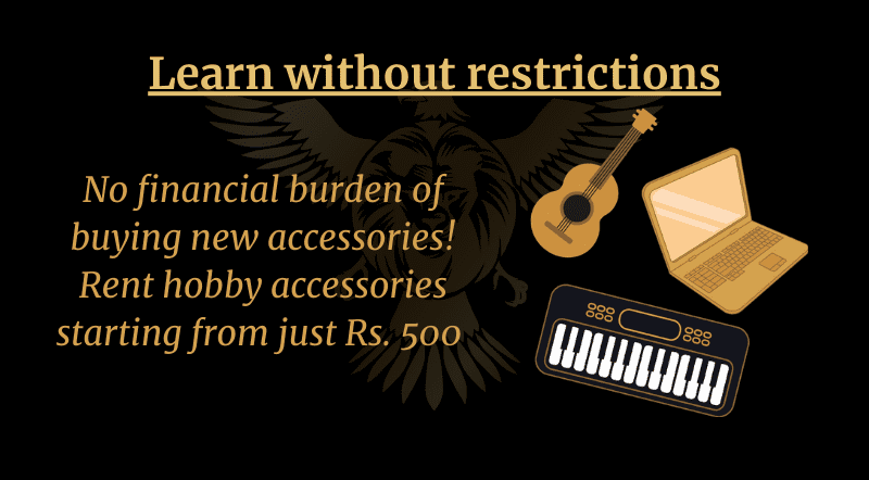 Rent hobby accessories